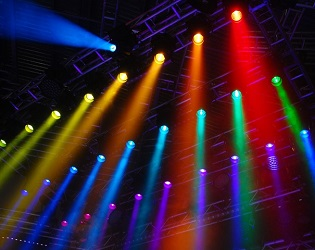 beam moving head effect lighting