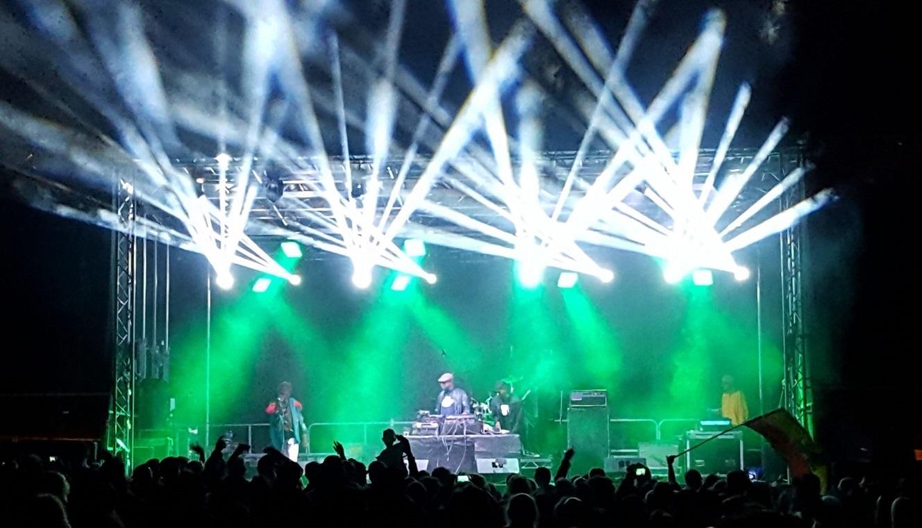 Stage, Sound, Lighting (Night)